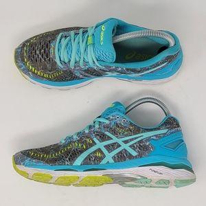 Asics Gel Kayano 23 T6A5N Running Shoes 7.5 Blue